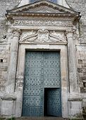 Enormous Church Door