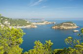 image of costa blanca  - View over the many capes and islands on Javea Coast Costa Blanca Spain - JPG