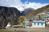pic of sherpa  - Mountains around capital of sherpas  - JPG