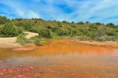 foto of upstream  - Sardinia  - JPG
