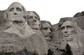 stock photo of mount rushmore national memorial  - Mount Rushmore National Memorial  - JPG