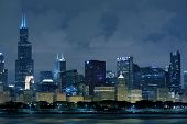 pic of willy  - Chicago Illinois Skyline  - JPG