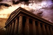 stock photo of ancient civilization  - Ancient Temple  - JPG