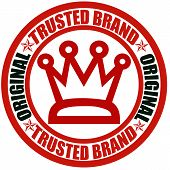 Trusted brand poster