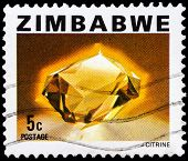 Post Stamp From Zimbabwe