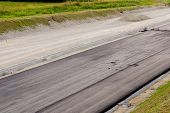 Asphalt And Asphalting The Road