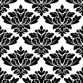 Damask style arabesque pattern