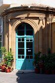 Постер, плакат: Кафе вход в старый Никосия Кипр