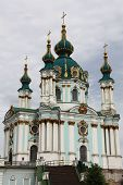 The Saint Andrew's Church in Kiev
