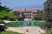 Pitti Palace And Boboli Gardens, Florence Italy