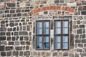 Window Of Old Castle In Medieval City Quedlingburg poster