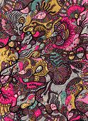 pic of psychedelic  - abstract psychedelic background - JPG
