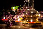 picture of massage oil  - Tea candles - JPG