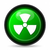 foto of nuke  - Radiation icon - JPG