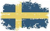 foto of sweden flag  - Sweden grunge flag - JPG