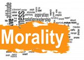 pic of morals  - Morality word cloud image with hi - JPG