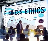 foto of ethics  - Business Meeting Ethics Graph Concept - JPG