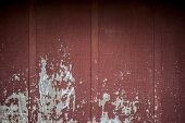 picture of red barn  - Old rustic weathered red barn wall in the country - JPG