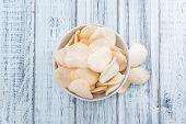 stock photo of chinese crackers  - Fresh Krupuk  - JPG