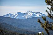image of monarch  - the colorado rocky mountains near monarch pass - JPG