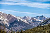 pic of monarch  - the colorado rocky mountains near the monarch pass - JPG