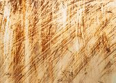 stock photo of scratch  - scratched metal painted silver paint - JPG