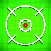stock photo of crosshair  - Crosshair firearm - JPG
