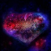������, ������: space heart
