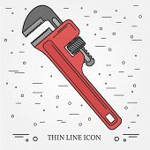 Wrench Icon. Wrench Icon Vector. Wrench Icon Drawing. Wrench Icon Image. Wrench Icon Graphic. Wrench poster