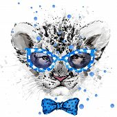 ������, ������: Lion cub Lion T shirt graphics watercolor Lion cub illustration watercolor cute Lion cub for fas