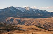 pic of beartooth  - The Nurses Lakes and Gallatin National Forest on the West Boulder basin near McLeod Montana - JPG