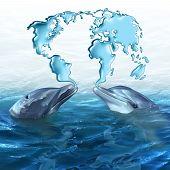 Постер, плакат: Marine Ecology