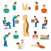 Diagnosis And Treatment Spine Diseases poster