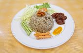 Fried Rice With Spicy Sauce poster