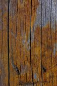 picture of wooden fence  - the colour and texture of a part of an old wooden fence - JPG