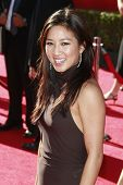 LOS ANGELES - JUL 15: Michelle Kwan at the 2009 ESPY Awards held at the Nokia Theater in Los Angeles