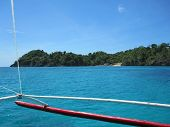 picture of carabao  - Ocean View of Carabao Island in the Philippines - JPG