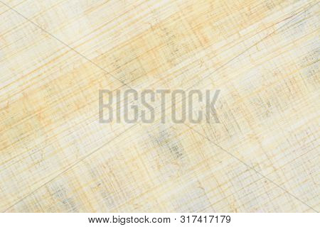 poster of Authentic Egyptian Papyrus Paper, Diagonal Background And Texture 45. Closeup High Resolution.