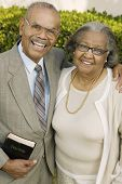 image of early 60s  - Smiling Senior Christian Couple - JPG