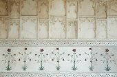 picture of khas  - Inlaid marble at the Hall of Private Audience or Diwan I Khas at the Lal Qila  - JPG