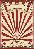 picture of cabaret  - Circus red vintage - JPG