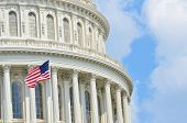stock photo of cupola  - US Capitol building  - JPG