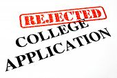 Rejected College Application