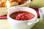 stock photo of pampushka  - Russian cuisine  - JPG