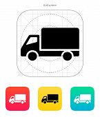 stock photo of food truck  - Truck icon - JPG