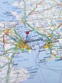 Map of Copenhagen poster