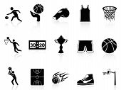 Basketball Icons Set poster