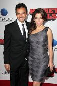 LOS ANGELES - OCT 2:  Eugenio Derbez, Alessandra Rosaldo at the