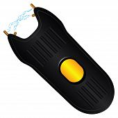 pic of taser  - Stun gun for protection in the crime situation - JPG