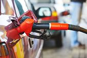 stock photo of gasoline station  - Fuel theme - JPG